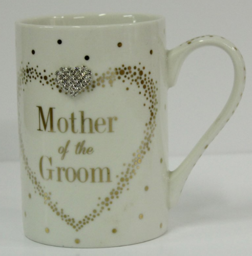MAD DOTS MOTHER OF GROOM MUG